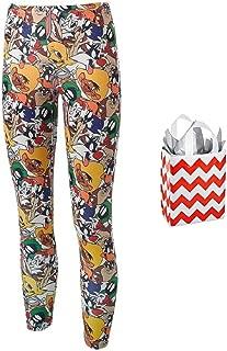 Looney Tunes Junior Womens' Multi Character Leggings and Bag 2 Piece Gift Set