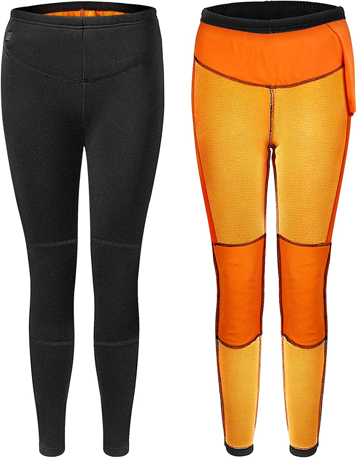 BABUTENLO Thermal Pants for Women, Thermal Underwear Fleece Lined Leggings Base Layer Bottoms for Winer Cold Weather