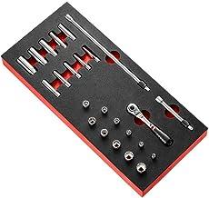 """FACOM Modm.RL1U 1/4"""" vergrendeling ratel en inch-formaat Socket Set"""