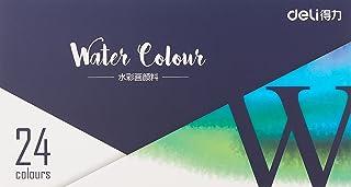 deli 73852 Premium Water Colours (24 Colours)
