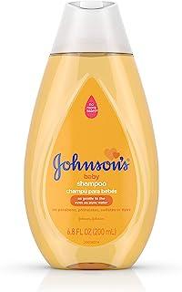 Champú para bebé Johnson's Tear Free Gentle, libre de parabenos, ftalatos, sulfatos y tintes, 6,8 fl. oz
