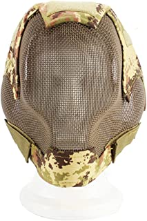 Seniorshop-MX Call of Duty Full Face Wrap Máscara de equitación Protectora Gafas antidesgaste
