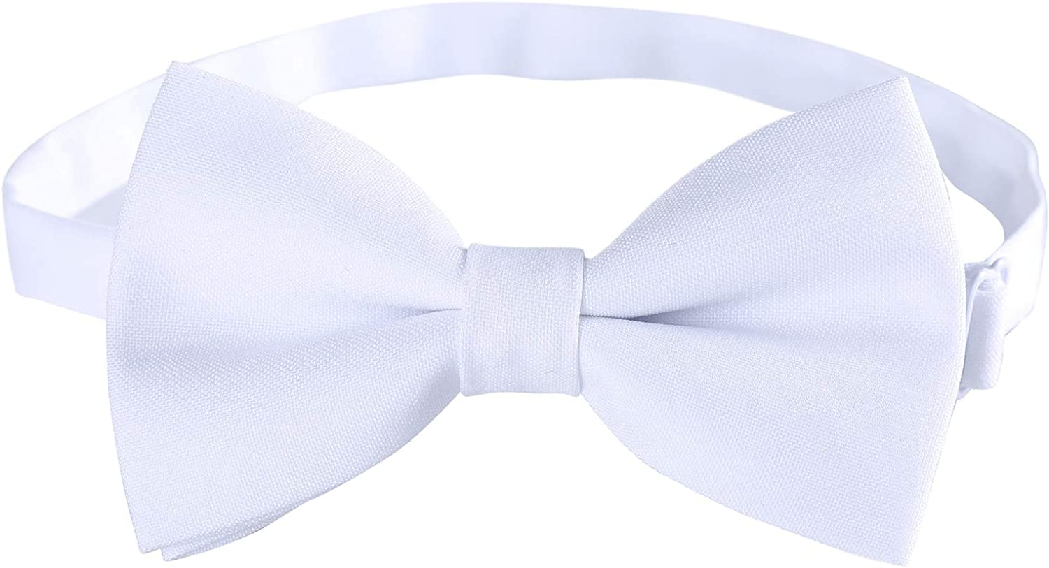 Classic Pre-Tied Reservation Mens Bow Ties Formal Bo Tuxedo Adjustable Solid Direct store