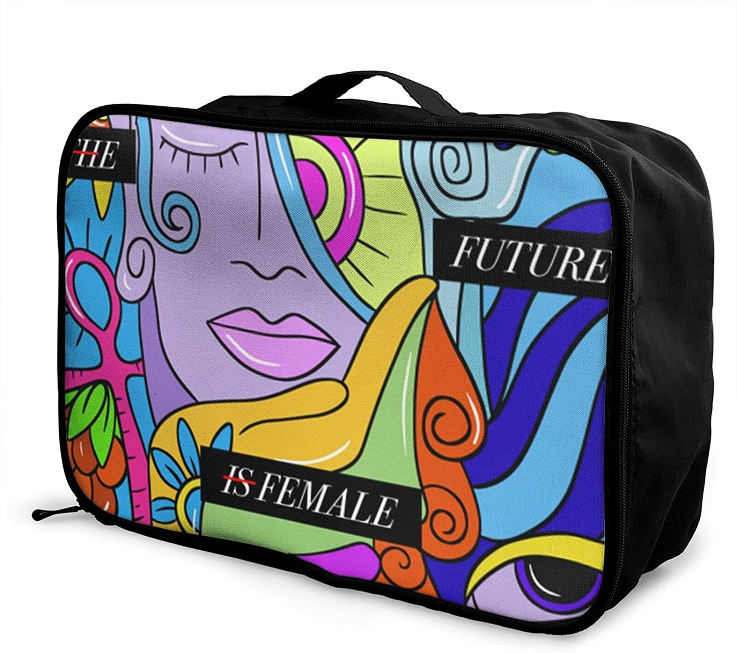 Foldable Travel Bag Tote Female Equal Future T Right Is Carry-On Our shop OFFers the best service half