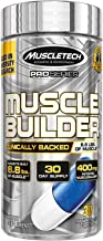 Muscle Builder Mass Gainer Pre Workout   MuscleTech Muscle Builder   Nitric Oxide Booster   Workout Supplement for Men and...