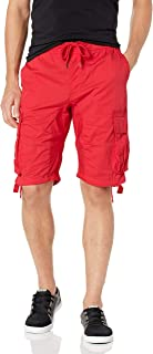 Men's Jogger Shorts with Cargo Pockets in Solid and Camo Colors