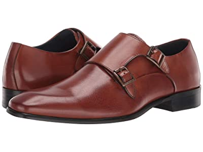 Steve Madden Beaumont Loafer (Cognac Leather) Men