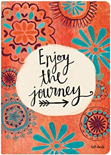 Brownlow Gifts Simple Inspirations Softcover Journal, Enjoy The Journey