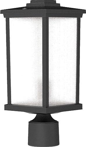 "high quality Craftmade ZA2415-TB Resilience Lanterns Outdoor Post/Pole Mount, 1-Light 60 Watt, Textured Matte Black, online sale 15""H x 6""W, online Made in USA sale"
