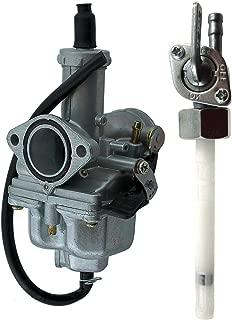 ATC185 Carburetor & Gas Fuel Valve For Honda ATC185S ATC200200S200X CB125S XR100100R200200R