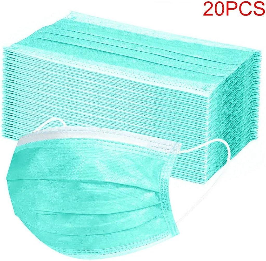 10//20//50//100 Piezas De Color S/óLido Respirable Protector Desechable para Adultos Oficina En Casa Estilo Simple para La Escuela