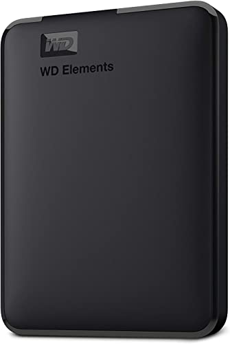 Western Digital Elements 1TB Portable External Hard Drive (Black) product image