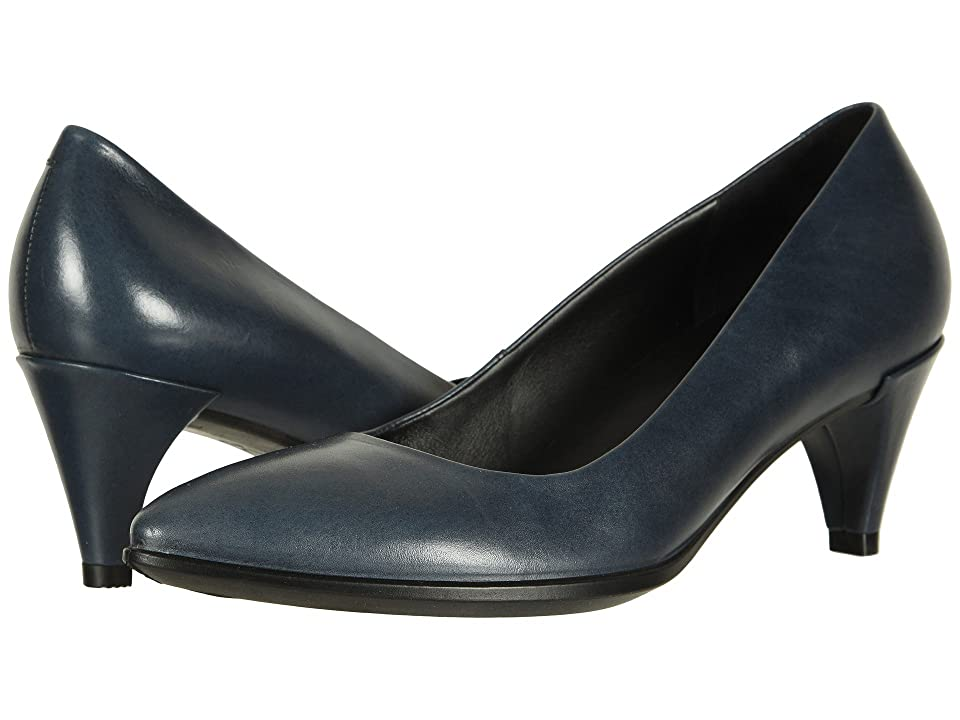 UPC 809704579269 product image for ECCO Shape 45 Sleek Pump (Pavement Calf Leather) Women's 1-2 inch heel Shoes | upcitemdb.com