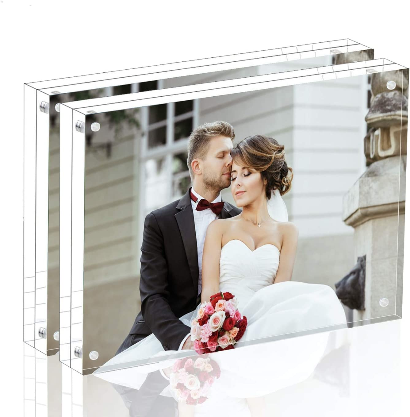 Magicool Premium Acrylic Photo Popular shop is the lowest price free shipping challenge Frame--- Magnet -Doub Frame
