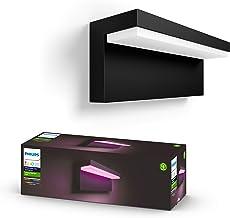 Philips Hue Nyro Muurlamp - Buitenlamp - IP44 - Duurzame LED Verlichting - Wit en Gekleurd Licht - Dimbaar - Verbind met H...