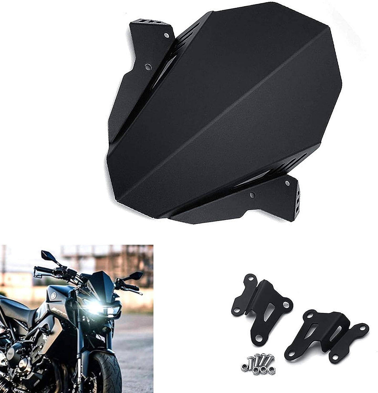 CNC Popular product Windscreen Motorcycle Wholesale Windshield Aluminum For Yamaha FZ FZ09