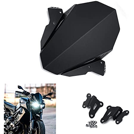 Fittings Motorcycle Accessories Small Windshield for Yamaha MT 09 MT-09 FZ-09 mt09 fz09 2017 2018 2019