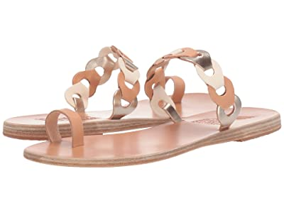 Ancient Greek Sandals Thalia Links (Natural/Off-White/Platinum Vachetta Mix) Women