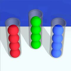 Just sort and stack balls into tubes according to their color. Control with 1 touch, easy to control. A perfect game for relaxing activity. It starts easy and gets challenging soon. Help keep your brain sharp and active. Easy and addictive gameplay! ...