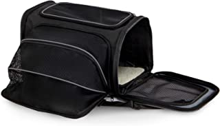 Petmate 21842 See and Extend Pets Carrier, Black