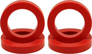 "Eurotubes ""EuroDamper"" Tube Damper Rings Extra Large for 6550, KT66, KT88, 300B and 2A3 Power Tubes. Set of four."