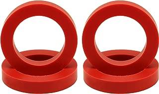 "Eurotubes ""EuroDamper"" Tube Damper Rings Extra Large for 6550, KT66, KT88, 300B and 2A3 Power Tubes. Set of four."
