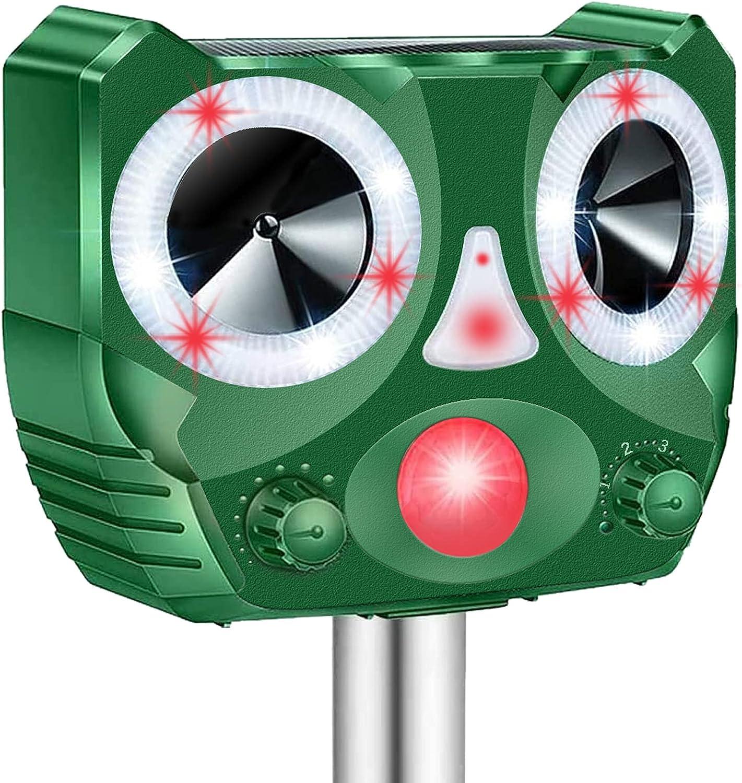 Hazida 鳥よけ 超音波 ソーラー充電