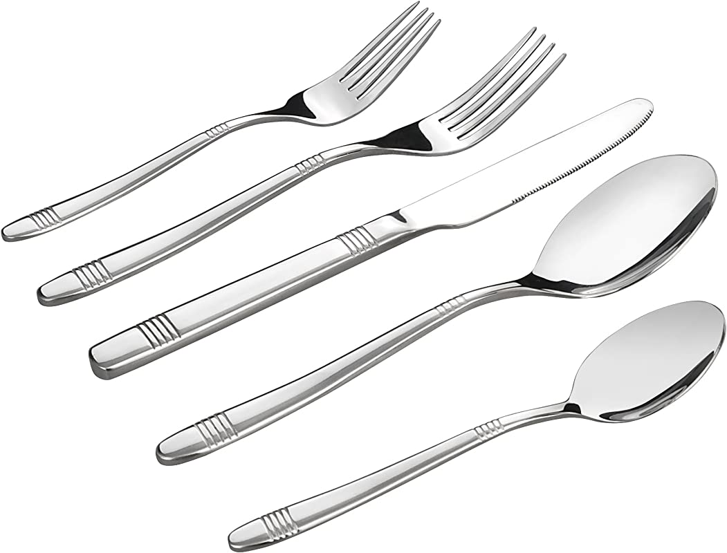 Begale 30 Piece Stainless Steel Flatware Service For 6