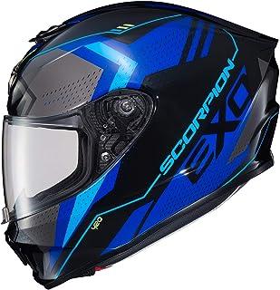 Scorpion EXO-R420 Helmet - Seismic (Medium) (Blue)