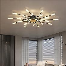 68W Traploos Dimmen LED-plafondlamp, Modern Home Binnenverlichting Ster LED-plafondlampen voor Slaapkamer Woonkamer Eetkamer