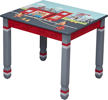 Fantasy Fields By Teamson Kids Furniture Table, Little Fire Fighters