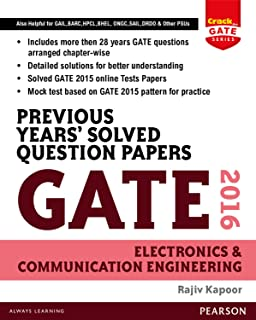 Previous Years' Solved Question Papers Gate 2016 Electronics and Communication Engineering