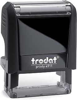 Trodat Printy 4911 Personalized Individual Custom Self Inking Stamp (9/16