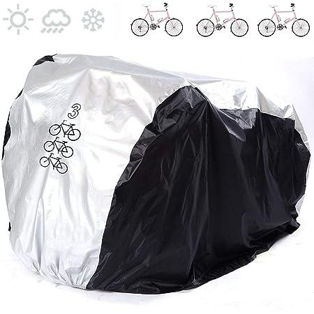 Vélo Bicyclette Housse Pluie Neige Tous Temps Imperméable Léger 180 x100cm