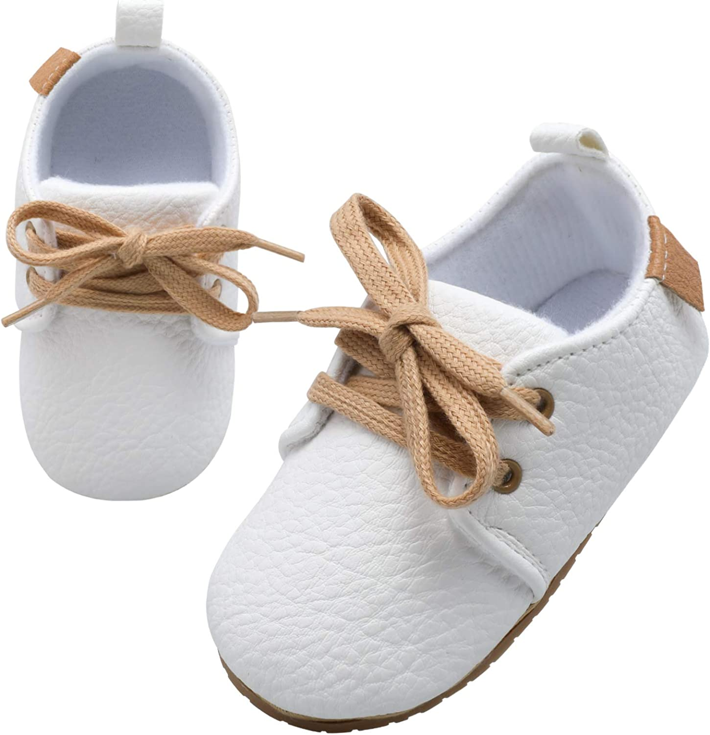 Scurtain Unisex Baby Boys Girls Oxford Shoes Baby Boys Girls Sneaker Baby Slippers Baby Boys Girls Shoes Baby Walking Shoes Infant Slippers Baby Walker