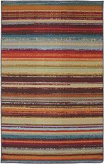 Mohawk Home Avenue Stripes Indoor/ Outdoor Printed Area Rug, 7'6x10', Multicolor
