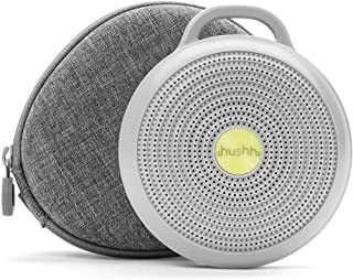 Yogasleep Hushh + Travel Case Portable White Noise Machine for Baby | 3 Soothing, Natural Sounds with Volume Control | Com...