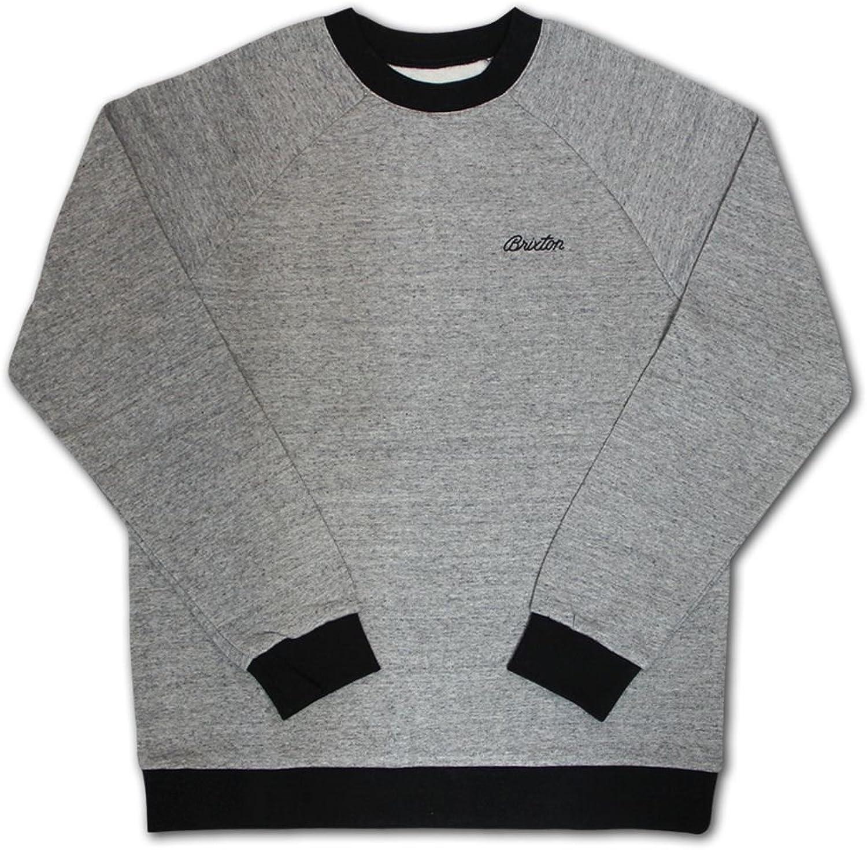 Brixton Trevor Sweatshirt grau schwarz