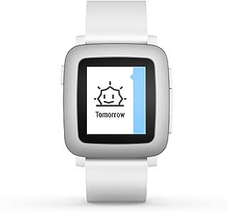 pebble Time Smartwatch White