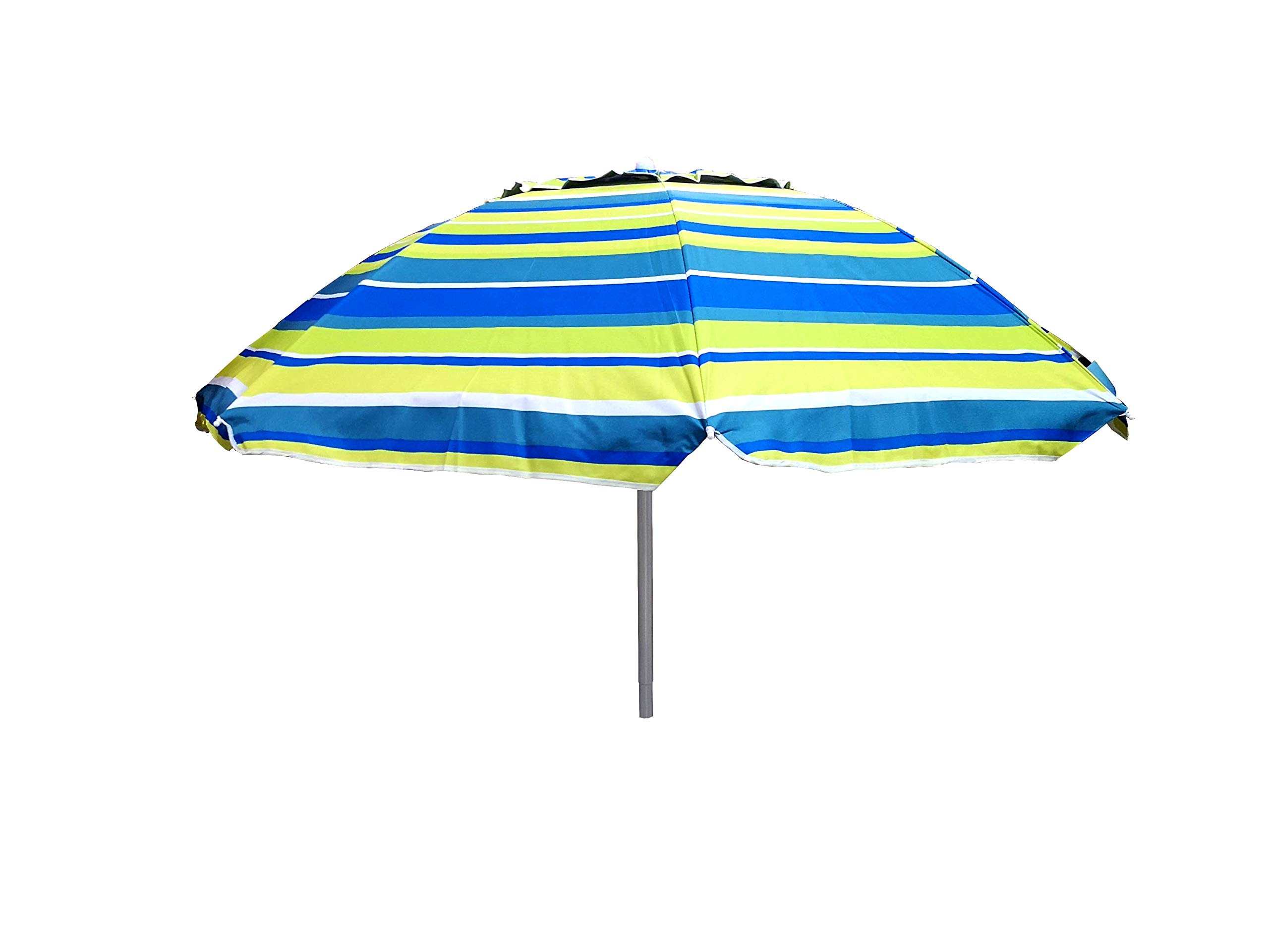 Maffei 181A H 215 cm x /Ø 200 cm Blu//Bianco-Blu Ombrellone rotondo