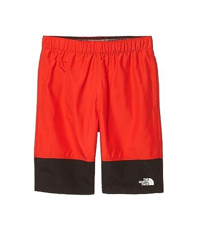 The North Face Kids Short Class V Water Shorts (Little Kids/Big Kids) (Fiery Red Ponderosa Phantom Print) Boy