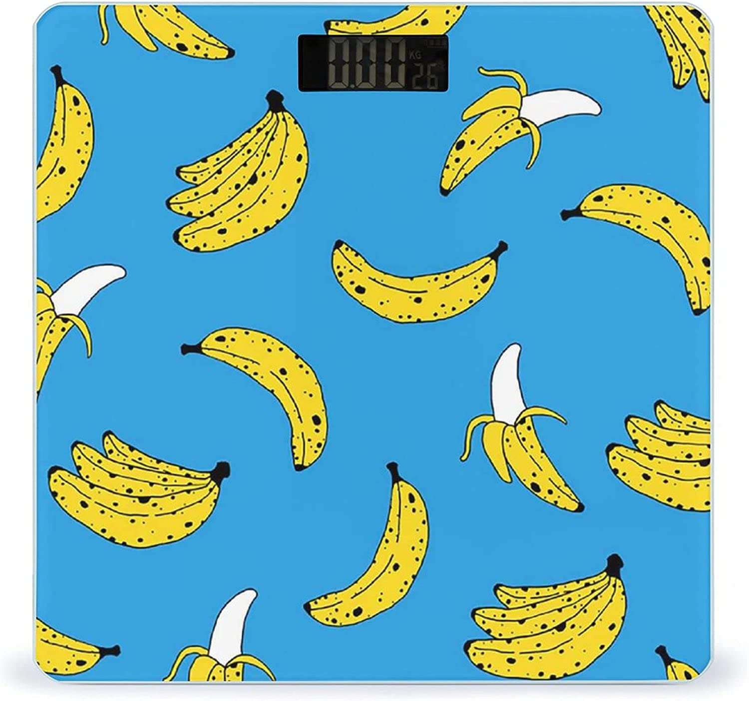 Banana Print Highly Accurate Smart Fitness Scale Digital Weight Atlanta Overseas parallel import regular item Mall
