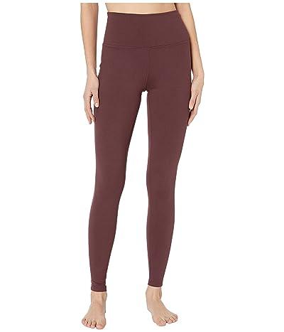 manduka Essential High Line Leggings (Dark Chestnut) Women