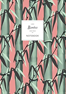 Bamboo Notebook - Lined Pages - A4 - Large: (Terracotta Edition) Notebook 192 lined pages (A4 / 8.27x11.69 inches / 21x29....