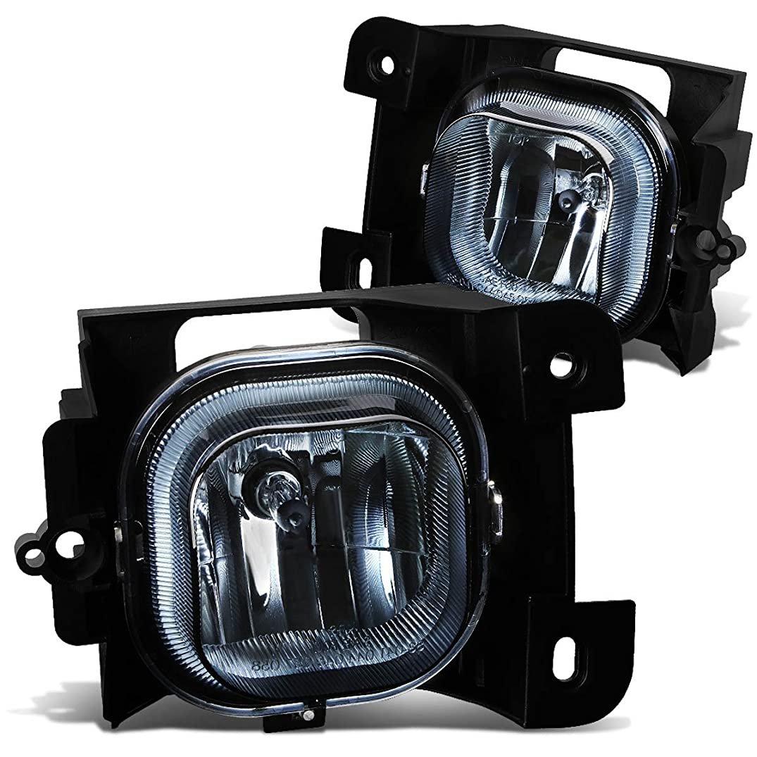 DNA Motoring FL-NS024-SM Front Bumper Fog Light
