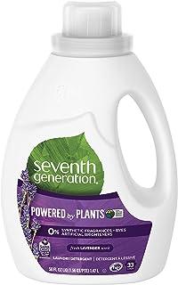 Seventh Generation Liquid Detergent, Lavender and Blue Eucalyptus, 1.47L
