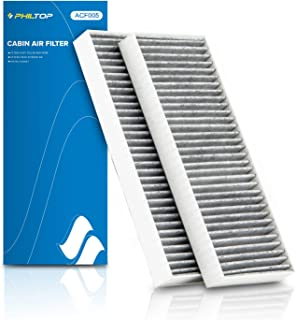 PHILTOP Cabin Air Filter, Replacement for Frontier, Pathfinder, Xterra, NV1500, NV2500, NV3500, Equator, CF10553, CP553, C...