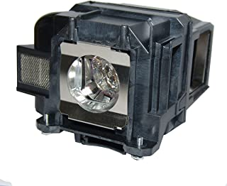 QueenYii ELPLP88 Compatible for EPSON EB-W31 PowerLite HC 2040 EB-U32 EB-W29 EB-W04 Replacement Projector Lamp with Bulb Inside