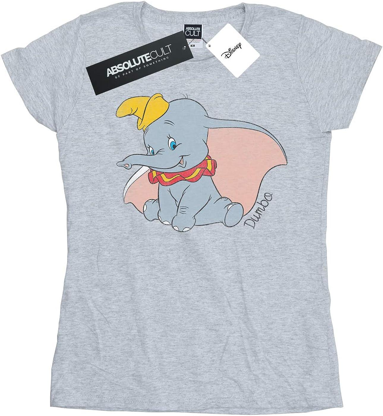 Disney Dumbo Flying Maglia di Tuta Donna