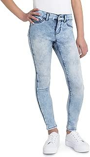 Girls BE Power Full Super Skinny Power Stretch Jeans, Slim Fit (Light Acid Wash)